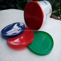 Plastic food tin can cap