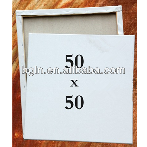 50*50cm high-grade professional wholesale stretched canvas for oil paint and acrylic paint