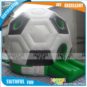 Football Castle Bouncer inflatable Bouncers for Toddlers Outdoor Inflatable Castle Bouncer for Kids