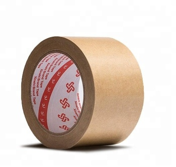 non adhesive fiber reinforced kraft paper tape with logo printed