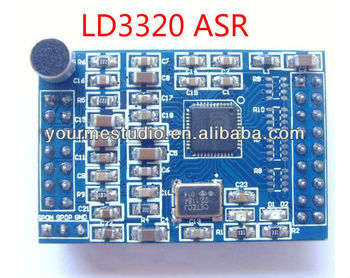 Ld3320 Si-asr Speaker-independent Automatic Speech Recognition Module With  Microphones Source Crystals - Buy Ld3320 Module,Ld3320 Speech Recognition