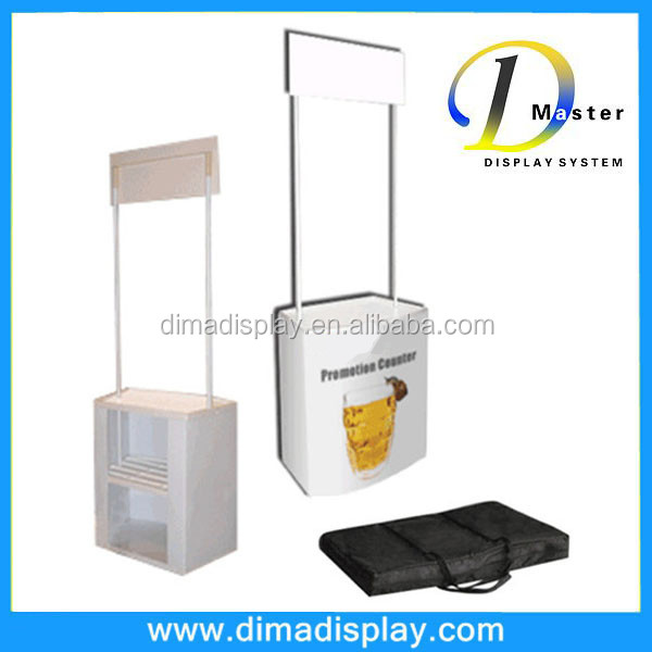 hot sale PVC plastic portable promotional sampling display booth