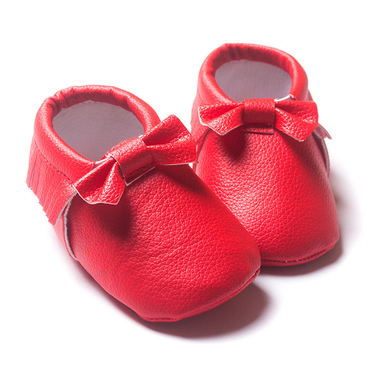 5358ac959a7 Buy PU Size 12 14 16 Scarlet Pink Red Soft Bottom Non-slip Breathable  Toddler shoes Baby Girl Shoes D14 in Cheap Price on m.alibaba.com