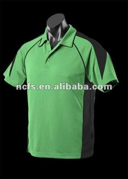 2012 hot sell mens two color sport dry fit polo tshirts
