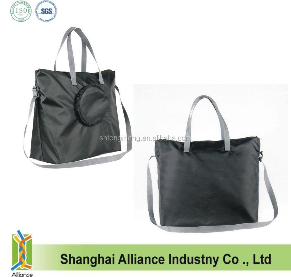 210d Ripstop Nylon Foldable Zipper Tote Bag(cf-158) - Buy Foldable ...