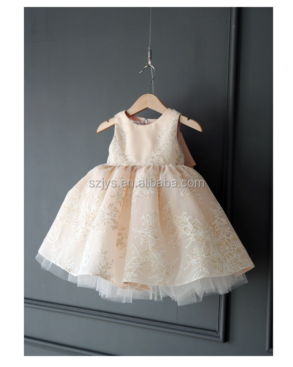 2b66be631f53 Tulle Puffy Baby Dress Designs Birthday Dress For Girl Hand ...