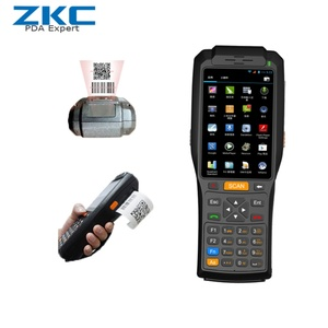 4 inch Android Wireless Barcode Scanner with Printer,handheld PDA,Mobile Data Terminal ZKC3506