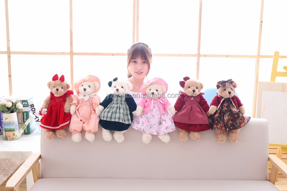 EN71 certification Cute design custom stuffed name giant teddy bear 30cm 60cm 160cm 180cm 200cm soft big animal <strong>plush</strong>
