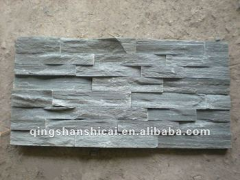 Exceptional Grey Slate Stacked Stone Wall Brick Tiles Interior Decorative Brick Walls  Interior Stone Walls