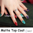 make every color matte gel top coat matte nail polish