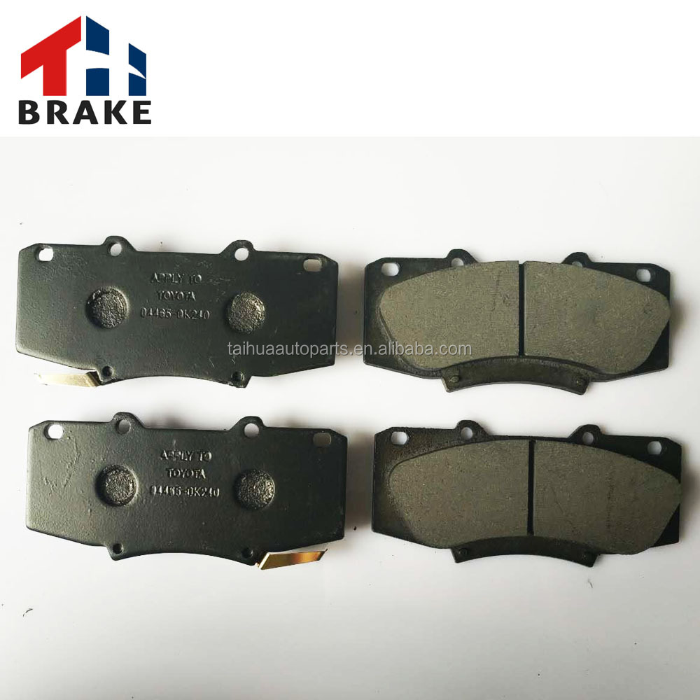 best quality auto spare parts japan brake pad for Toyota parts 04466-43090