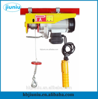 Professional OEM/ODM Factory Supply cargo lifting equipment mini electric wire rope hoist from China