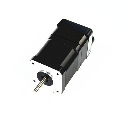 Integrated stepper motor with driver