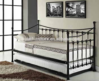 White Bed Frame Single Double Metal Beds Daybeds Day Beds Buy
