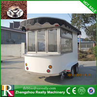 Mobile Food Kiosk/ Manufacturer Street Fast Food Kiosk/ Outdoor Mobile Kiosk for Fast Food