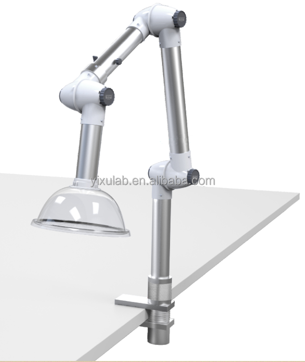 bench top fume extraction arm/articulated/rigid arm