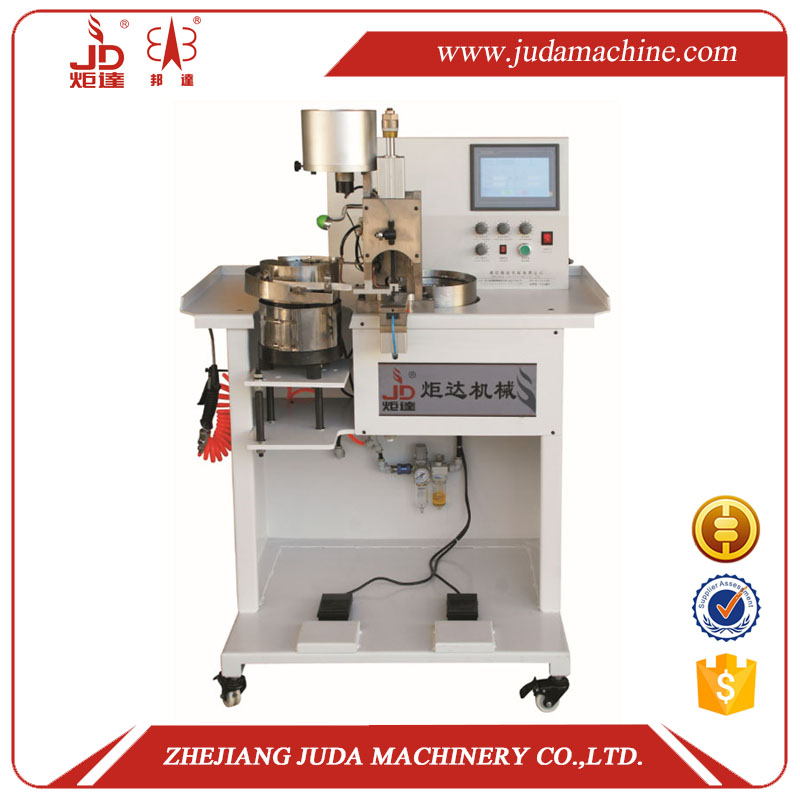 Automatic Multi-function Automatic Clothes Garment Leather Shoes Accessories Pearl Nail Riveting Machine