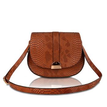 Bonia Lady Fashion Handbag Moq 1 Pu Snake Texture Leather China Factory Handbags For Women Smaller
