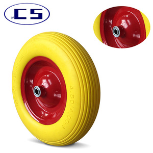 High quality pu caster foam filled wheel EVA foam wheels
