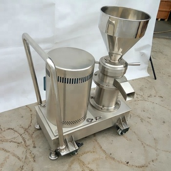 Colloidal Mill Machine Price for Raw Carrots into Baby Food