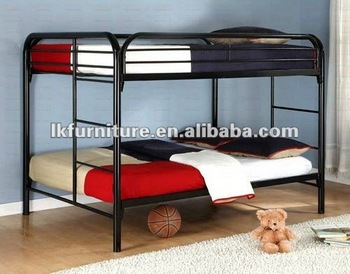 Popular Metal Bunk Bed With Powder Coating Buy Bunk Bed Low Price