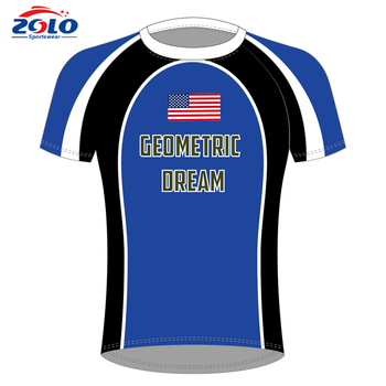 Popular and the newest 100% polyester sublimation custom soccer jersey
