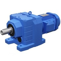 helical gear box for cold saw