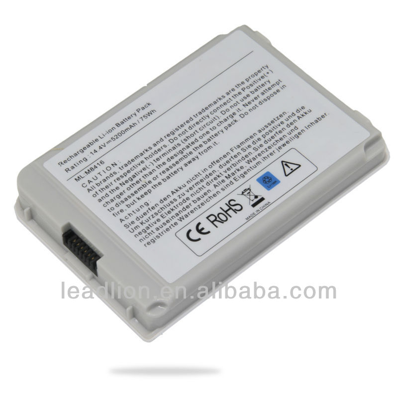 Notebook Laptop battery For Apple iBook 14-iNch G3 G4,Apple M8416 A1062 series