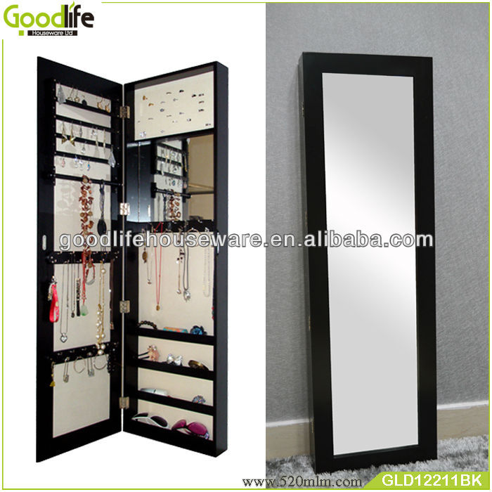 Goodlife Wall Mount,Over Door Vanity Mirrors Jewelry Cabinet   Buy Jewelry  Box,Wall Mounted Key Cabinets,Box For Jewelry Product On Alibaba.com