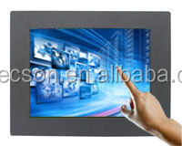 "screen touch samsung 15"" panel mount industrial lcd monitor 12 volt"