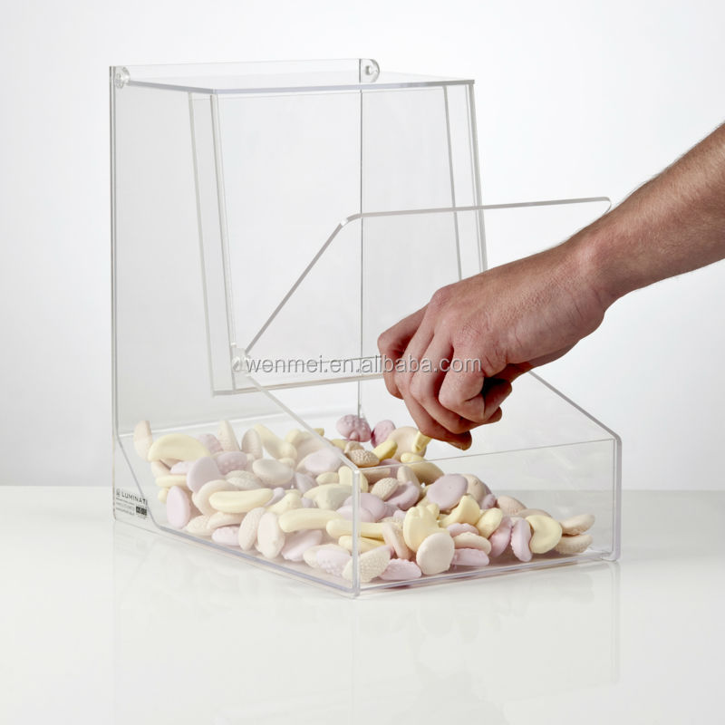 Acrylic Food Storage Bin, Acrylic Container
