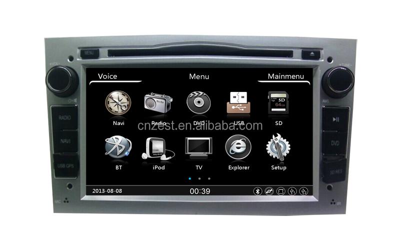 2 din gps car multimedia player per opel astra h vectra corsa zafira autoradio con sistema di. Black Bedroom Furniture Sets. Home Design Ideas