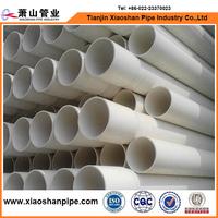 4 Inch Diameter Schedule 40 PVC Pipe White