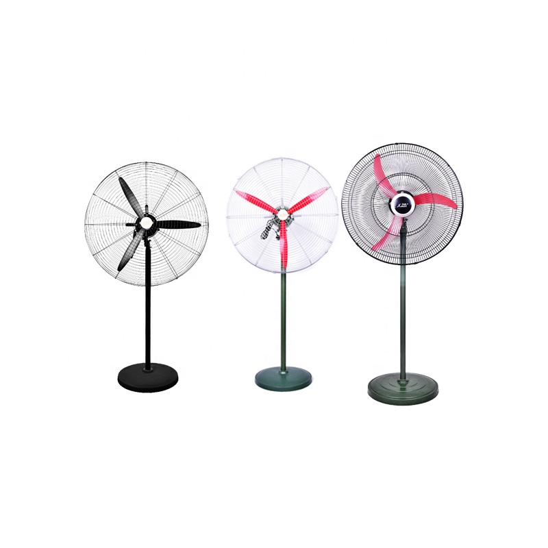 20' DC 3 Speed Low Price Hot Sell High Quality Oscillating Electrical Pedestal industrial Stand Fan with Aluminum Fan Blade