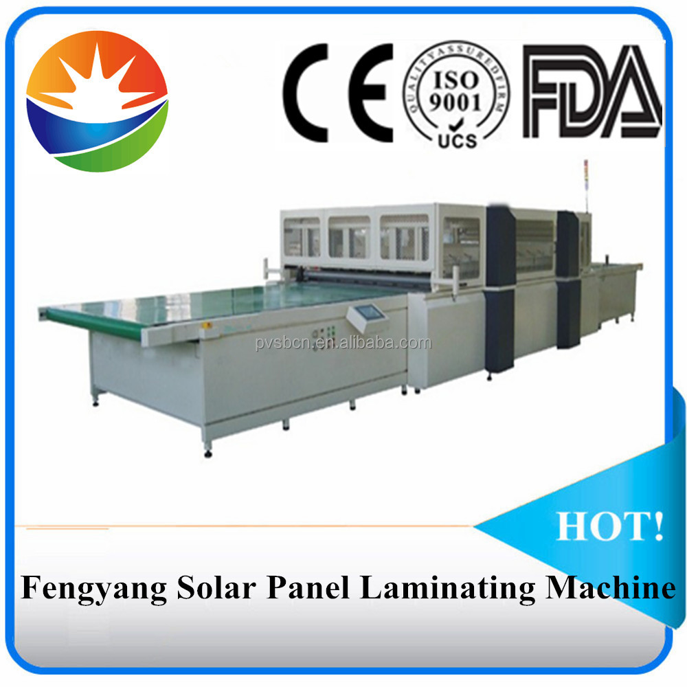 Fully-automatic solar panel laminator in PV machinery