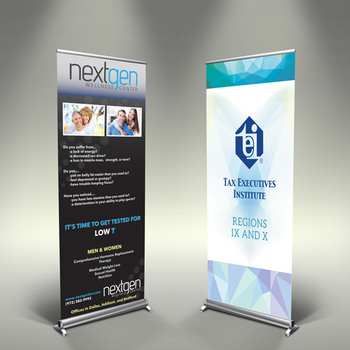 Exhibition Stand Banner : Trade show pop up exhibition display pull up tarpaulin stand