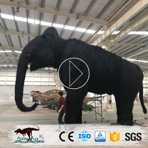 OA3990 Iceage Exhibition Life Size Animatronic Animated Mammoth