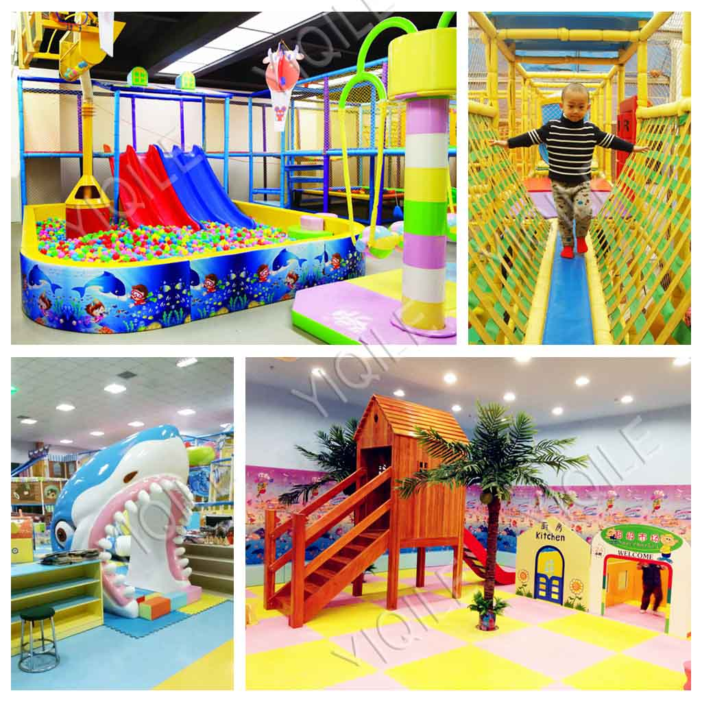 Wholesale Kids Durable Indoor Outdoor Playground High Quality Soft Play Ground Used Indoor Playground Equipment Sale