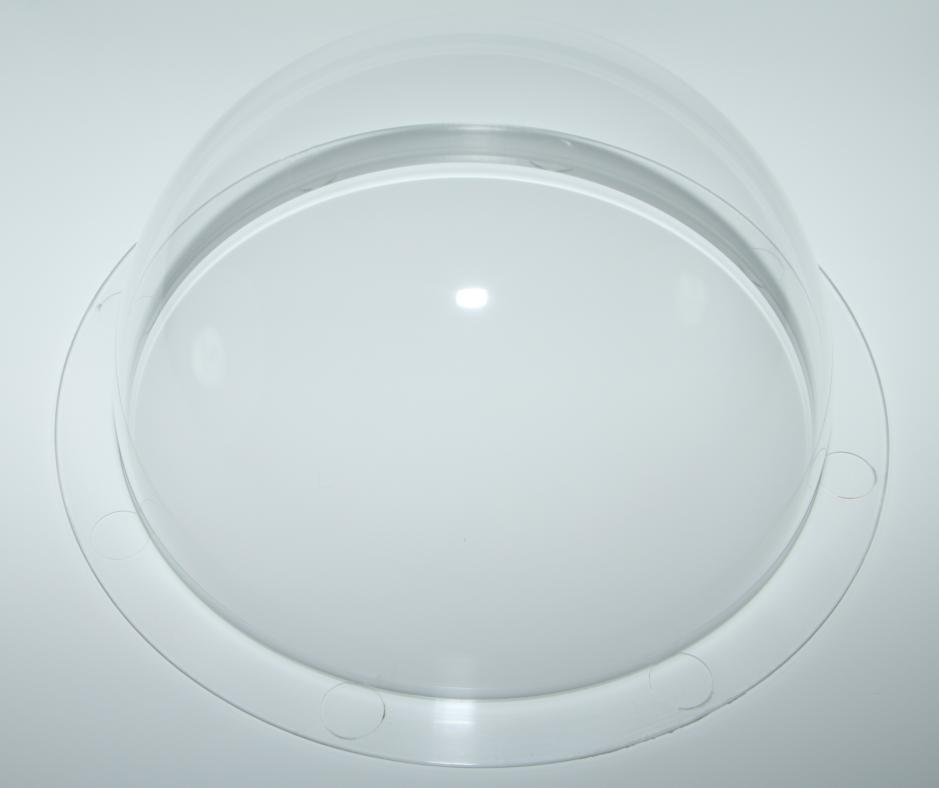 Beautiful high quality clear acrylic dome display