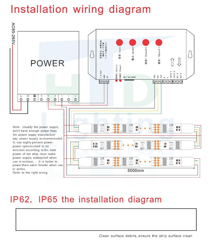HTB1MYKEOXXXXXbrXFXXq6xXFXXXZ 32leds m 60leds m 5050 smd magic digital rgb full color led strip ws2811 wiring diagram at crackthecode.co