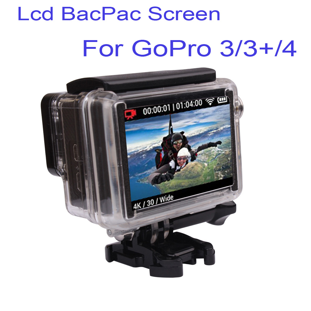 Free Shipping OEM HD Hero3 Camera LCD Bacpac Display Viewer W/ Backdoor For