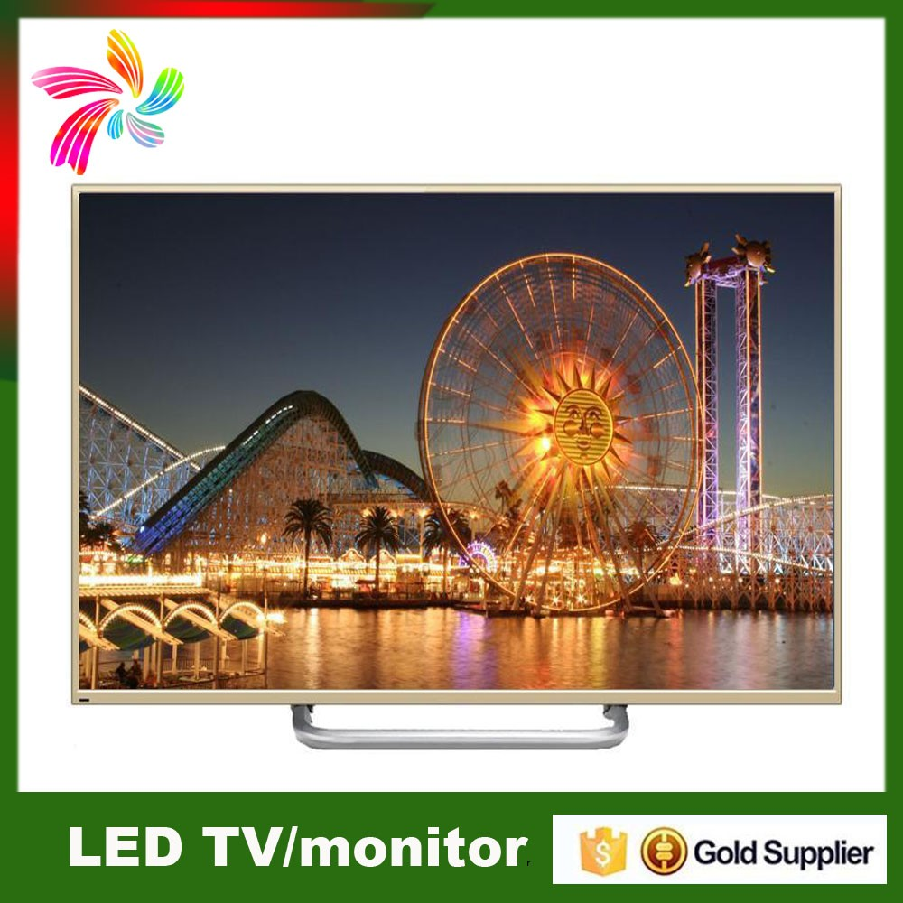 super slim LCD / LED TV 21.5 23.6 inch Television 3D led tv with original imported panel