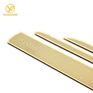 Factory personalized drawing stencil metal bookmark blank cutting dies