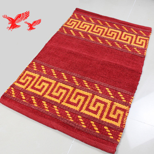 Manufacturers Wholesale Customized Terry Jacquard 100 Cotton Thin Bath Mat