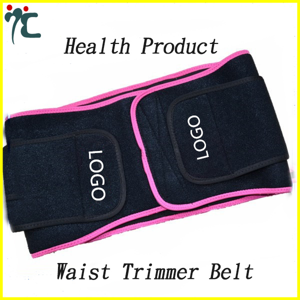 Breathable Waist Trimmer Belt Back Support Slimming Band
