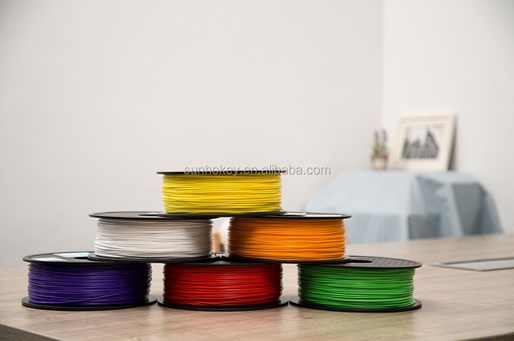 3D directly factory 3D printing filaments 1.75mm/3.0mm <strong>ABS</strong> PLA PA PC PETG WOOD PVA 3D printer filaments