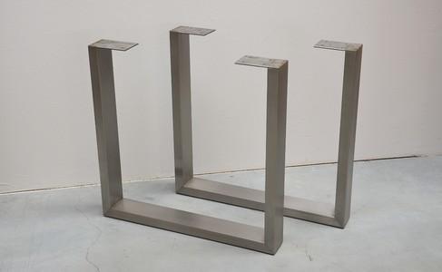 u form metall edelstahl tischbeine m belbein produkt id. Black Bedroom Furniture Sets. Home Design Ideas