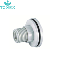 High Quality Price Competitive PVC Pipe Fitting BS Standard PVC Tank Connector