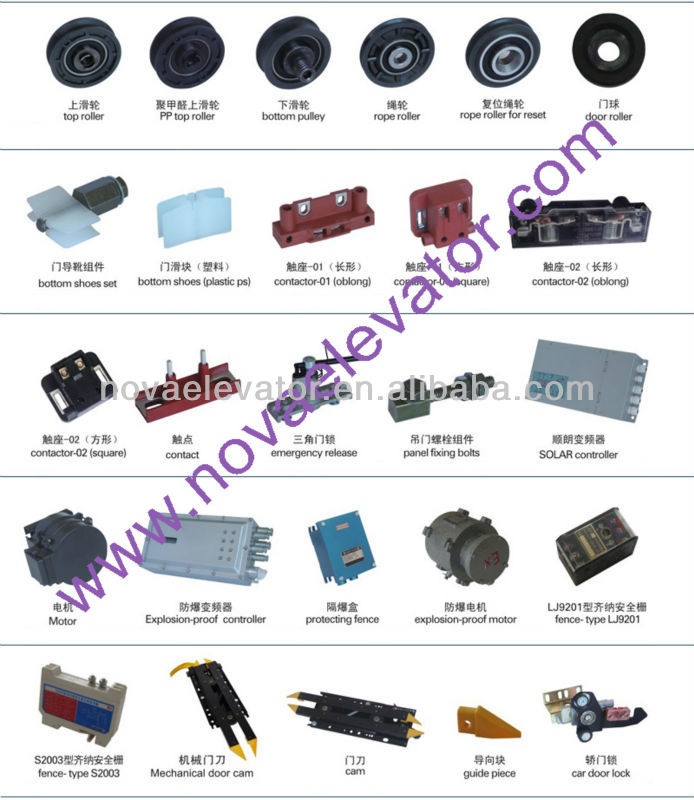 Elevator Door,Lift Door Parts,Elevator Replacement Door Parts For  Elevator/lift Modernization - Buy Door Parts,Sliding Elevator Door,Elevator