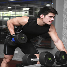 High Quality Fitness Compresion Sport Base Layer Men Shirt Gym Clothes